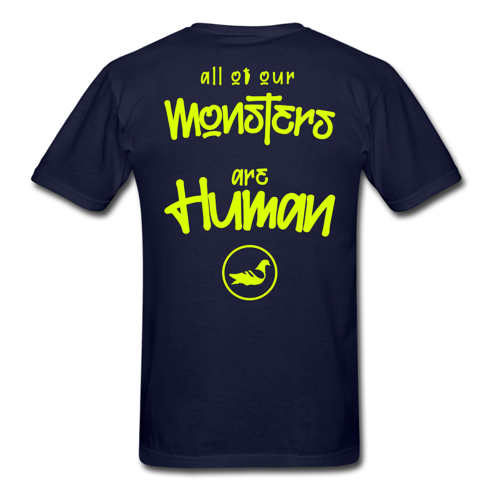 All of our Monsters T-Shirt - navy
