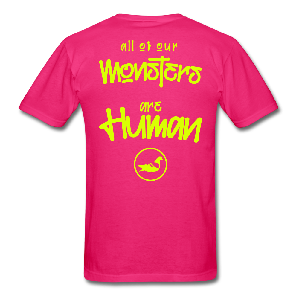 All of our Monsters T-Shirt - fuchsia