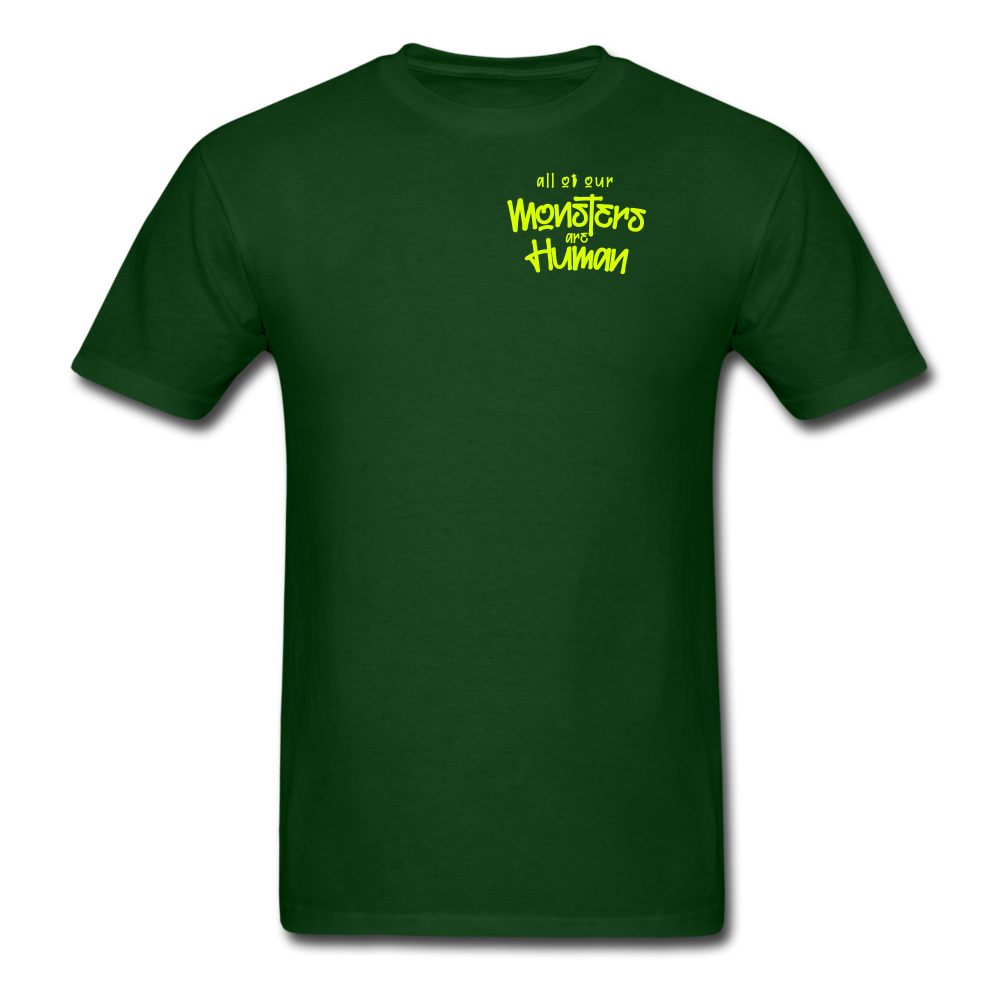 All of our Monsters T-Shirt - forest green