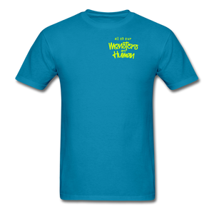 All of our Monsters T-Shirt - turquoise