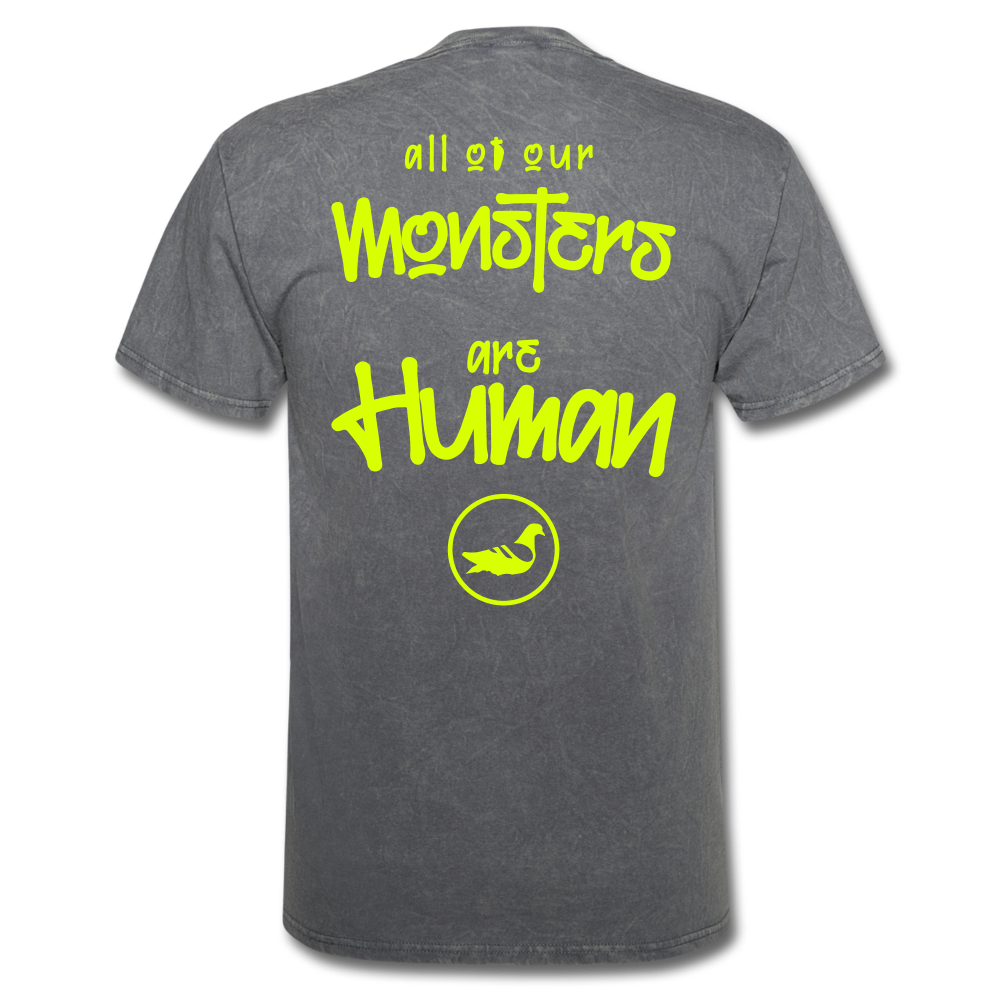 All of our Monsters T-Shirt - mineral charcoal gray