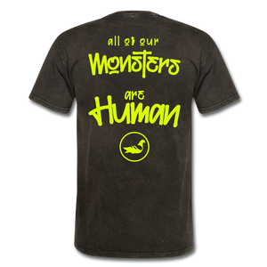 All of our Monsters T-Shirt - mineral black