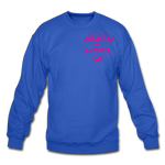 All of our Monsters (Alt) Crewneck Sweatshirt - royal blue