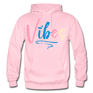Vibes Heavy Blend Adult Hoodie - light pink