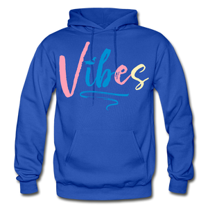 Vibes Heavy Blend Adult Hoodie - royal blue