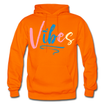 Vibes Heavy Blend Adult Hoodie - orange