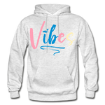 Vibes Heavy Blend Adult Hoodie - light heather gray