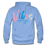 Vibes Heavy Blend Adult Hoodie - carolina blue