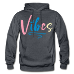 Vibes Heavy Blend Adult Hoodie - charcoal gray