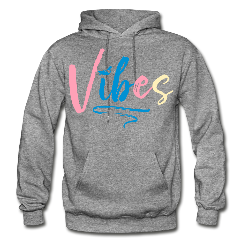 Vibes Heavy Blend Adult Hoodie - graphite heather