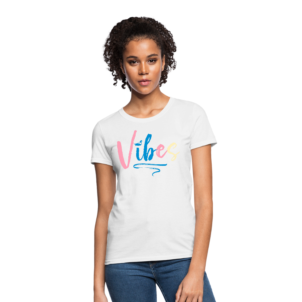 Vibes Women's T-Shirt - white