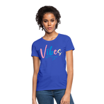 Vibes Women's T-Shirt - royal blue