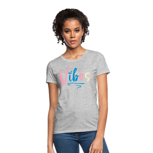 Vibes Women's T-Shirt - heather gray