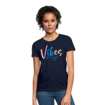 Vibes Women's T-Shirt - navy