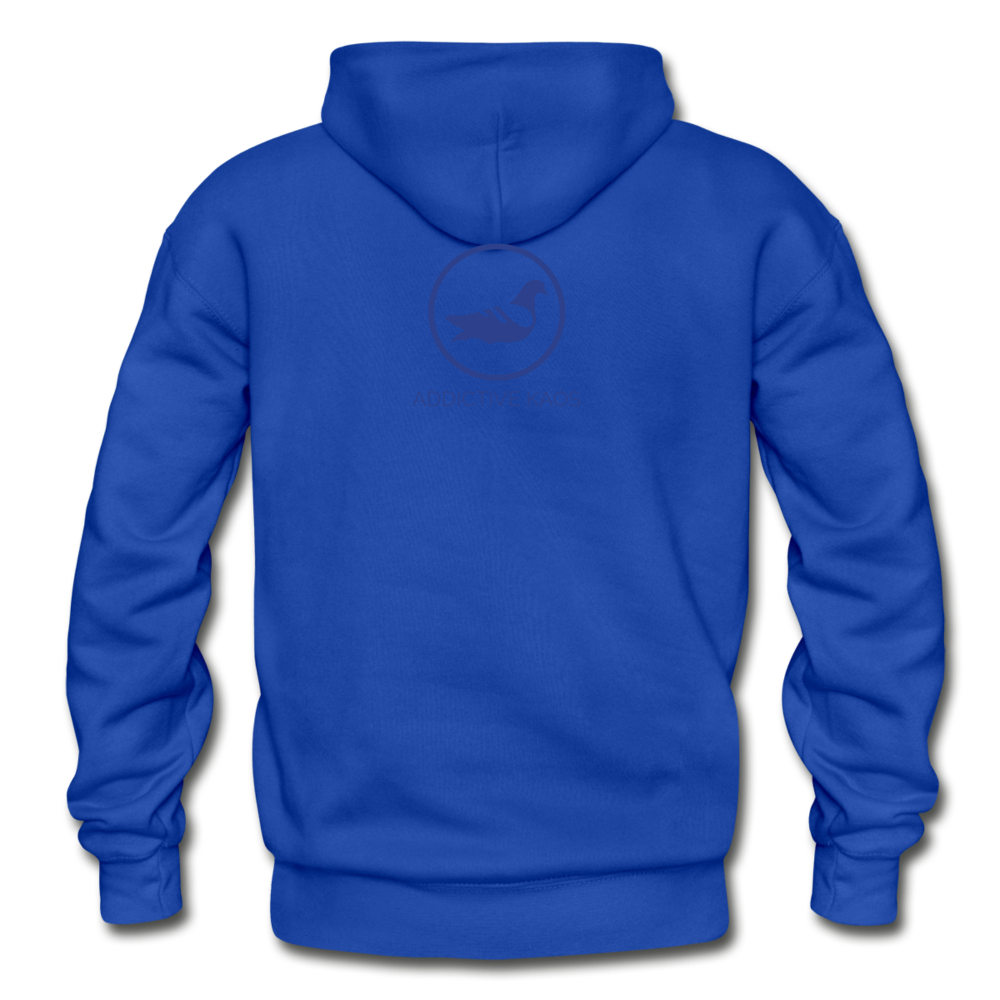 Rival Heavy Blend Adult Hoodie - royal blue