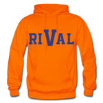 Rival Heavy Blend Adult Hoodie - orange