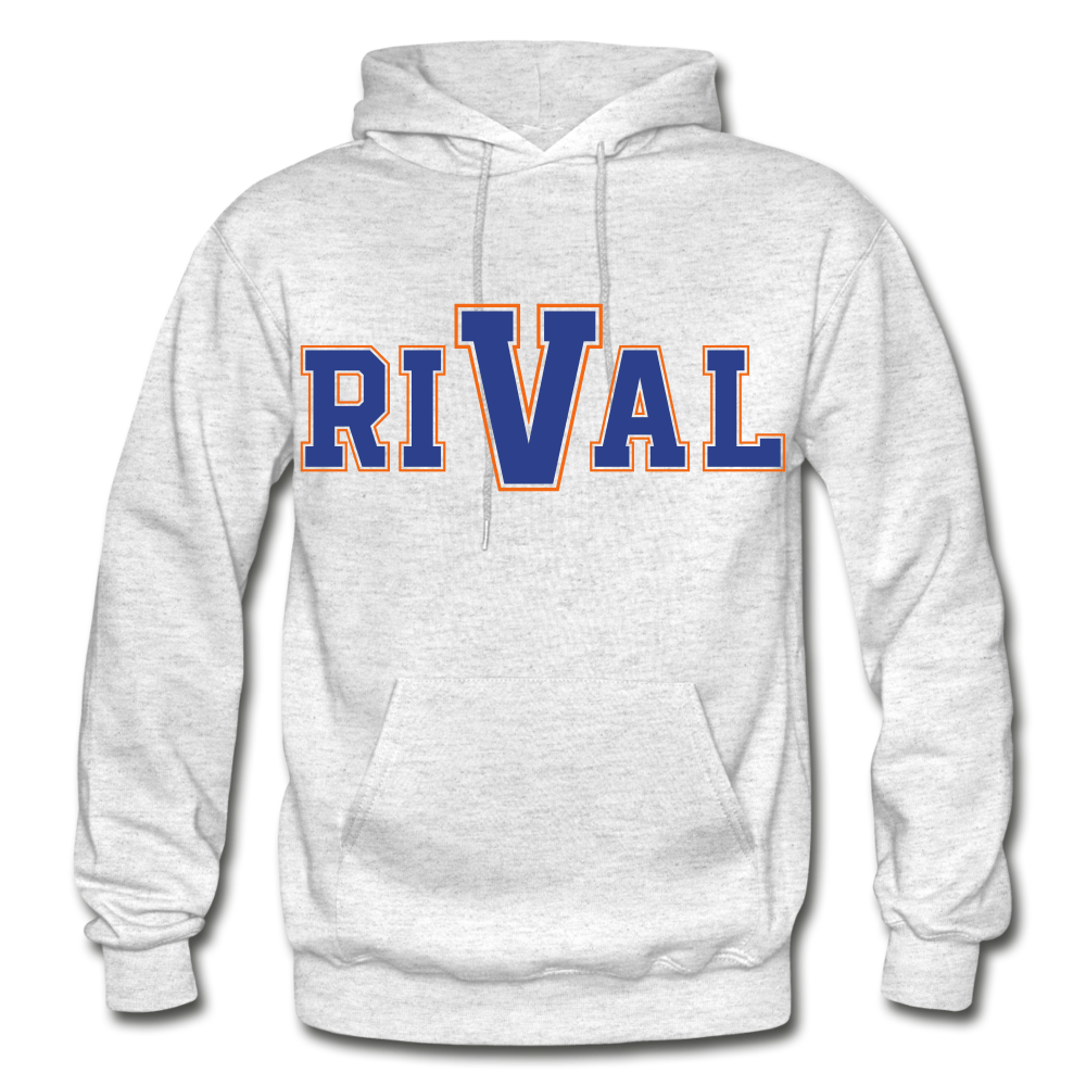 Rival Heavy Blend Adult Hoodie - light heather gray