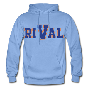 Rival Heavy Blend Adult Hoodie - carolina blue