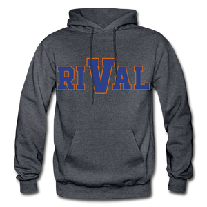 Rival Heavy Blend Adult Hoodie - charcoal gray