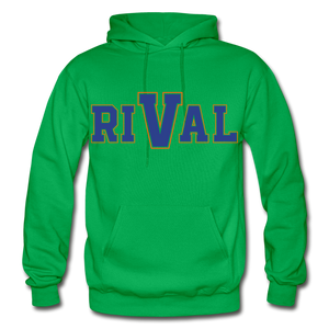 Rival Heavy Blend Adult Hoodie - kelly green