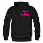 Erotique Heavy Blend Adult Hoodie - black