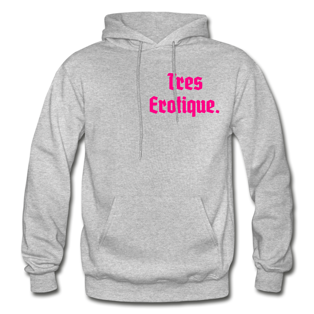 Erotique Heavy Blend Adult Hoodie - heather gray