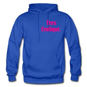 Erotique Heavy Blend Adult Hoodie - royal blue