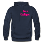 Erotique Heavy Blend Adult Hoodie - navy