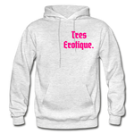 Erotique Heavy Blend Adult Hoodie - light heather gray