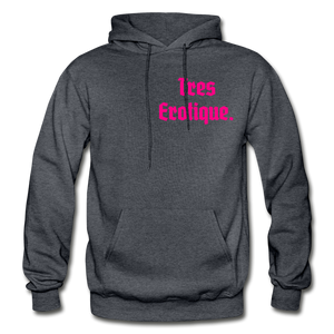 Erotique Heavy Blend Adult Hoodie - charcoal gray