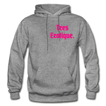 Erotique Heavy Blend Adult Hoodie - graphite heather