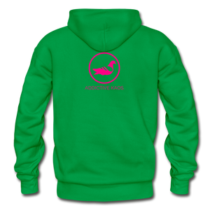 Erotique Heavy Blend Adult Hoodie - kelly green