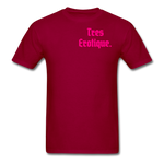Erotique T-Shirt - dark red