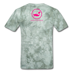 Erotique T-Shirt - military green tie dye