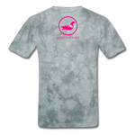 Erotique T-Shirt - grey tie dye