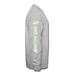 Dead Wavy (Glow) Crewneck Sweatshirt - heather gray