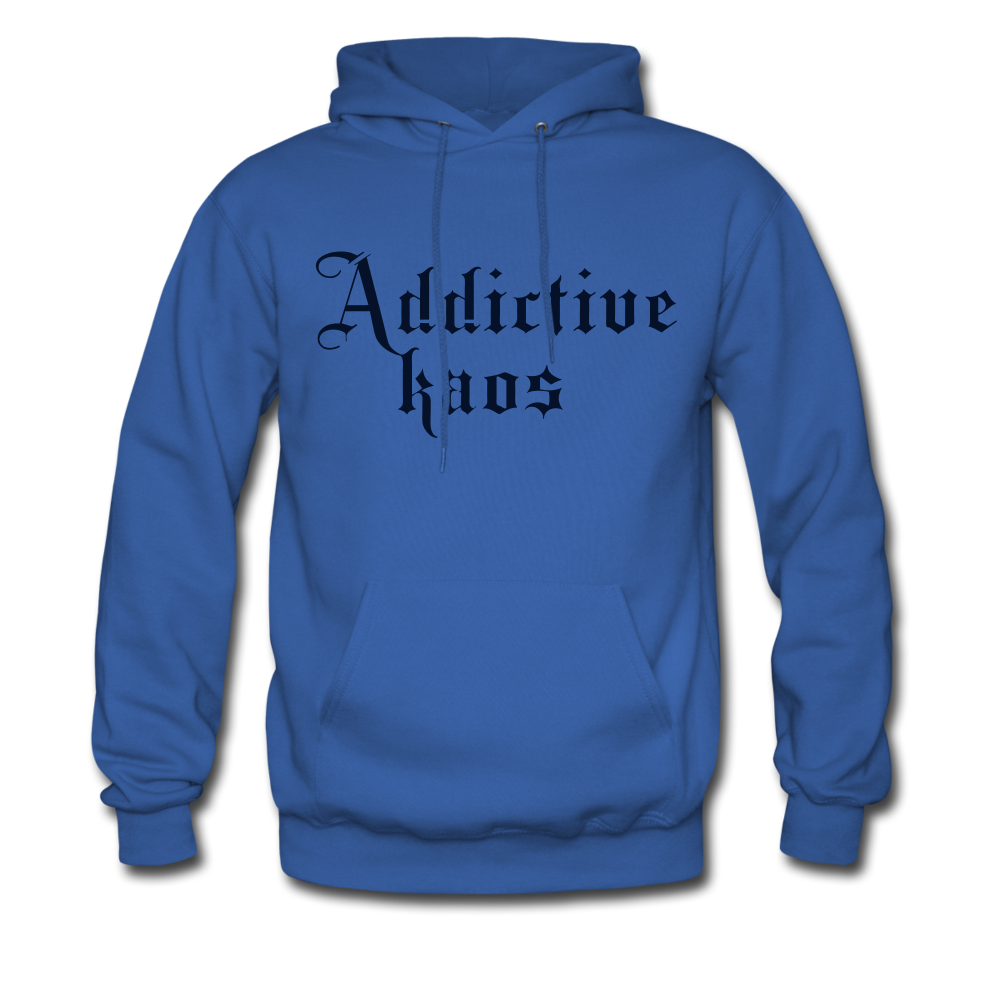Classic Addictive Kaos Men's Hoodie - royal blue