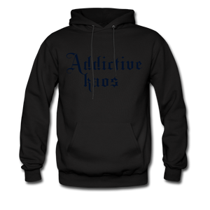 Classic Addictive Kaos Men's Hoodie - black
