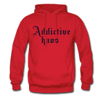 Classic Addictive Kaos Men's Hoodie - red