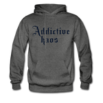 Classic Addictive Kaos Men's Hoodie - charcoal gray