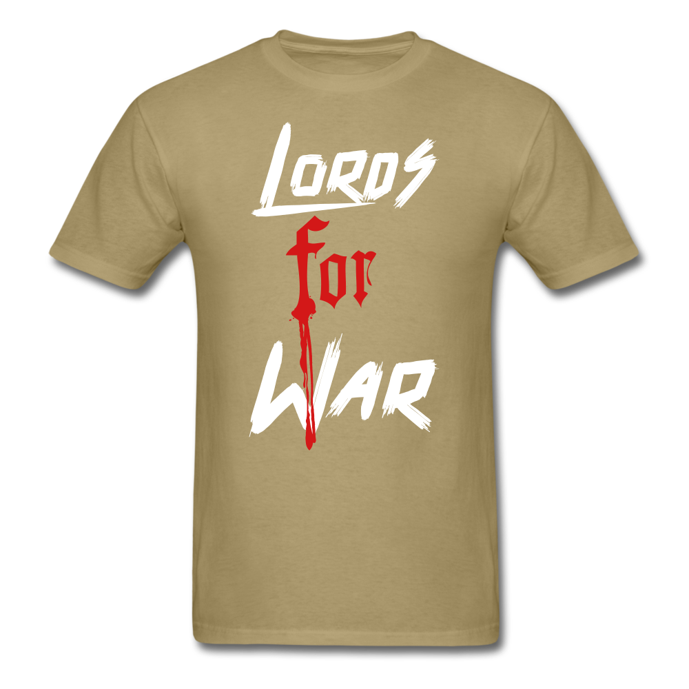 Lords For War T-Shirt - khaki