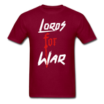 Lords For War T-Shirt - burgundy
