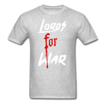 Lords For War T-Shirt - heather gray