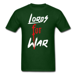 Lords For War T-Shirt - forest green