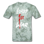 Lords For War T-Shirt - military green tie dye