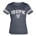 ISUPK Team Women's Vintage Sport T-Shirt - vintage navy/white