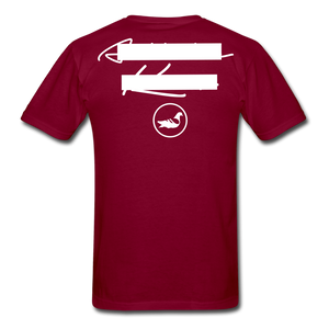 NY Teams T-Shirt - burgundy