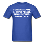 NY Teams T-Shirt - royal blue