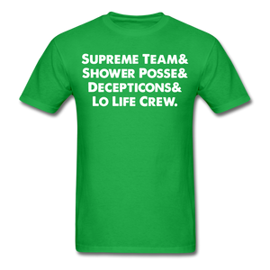 NY Teams T-Shirt - bright green