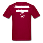 NY Teams T-Shirt - dark red
